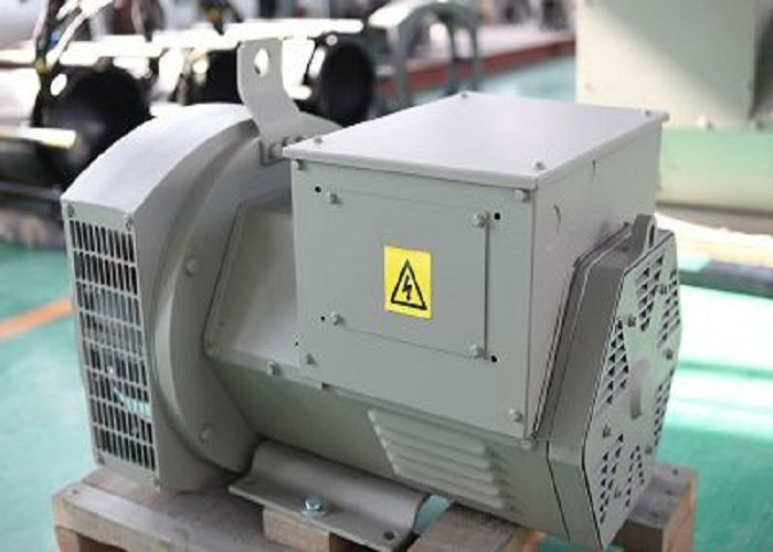 110V - 690V 30kw / 37.5kva Electric Brushless Synchronous Generator Self-excited