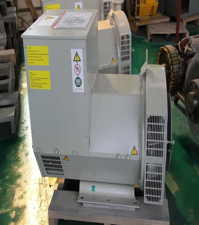 1500rpm Diesel Brushless Synchronous AC Alternator 48kw / 60kva 4 pole