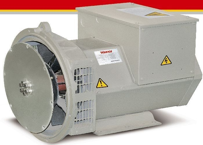 28kw Brushless Synchronous AC Alternator Generator With 12 / 6 Wire Terminal