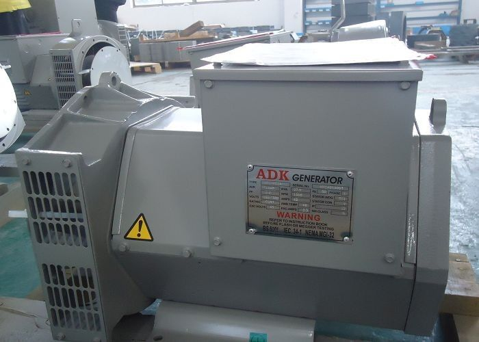 28kva 1 Phase Stamford AC Generators Excitation Alternator 12 / 6 Wire