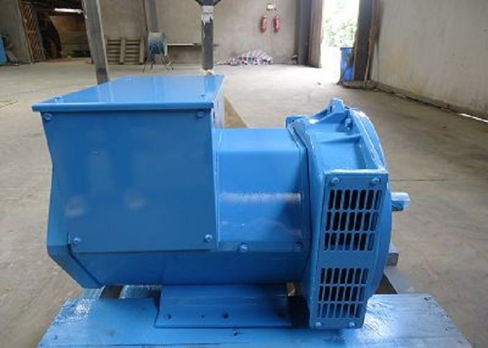 Three Phase Double Bearing Alternators Electric 25kw 31.3kva 12 / 6 Wire